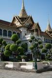 Den kungliga slotten i Bangkok Arkivfoto