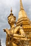 Den kungliga storslagna slotten. Bangkok Thailand. arkivbilder