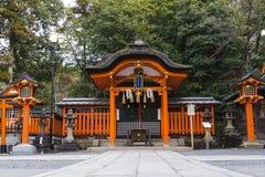 Den KYOTO JAPAN Kinkaku-ji templet av den guld- paviljongen namngav officiellt Rokuon-ji Är den trädgårds- templet för hjortar en Royaltyfri Fotografi