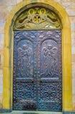 Den kyrkliga dörren Royaltyfria Bilder
