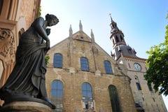 den kyrkliga helgedomen trefoldighetskirken trinity Royaltyfri Bild