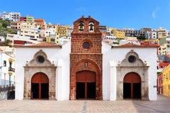 Den kyrkliga Iglesia de Nuestra de laen Asuncion Royaltyfria Foton