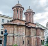 Den kyrkliga Kretzulescuen Arkivfoton