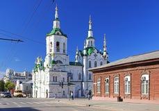 den kyrkliga russia frälsaren tyumen Royaltyfria Foton