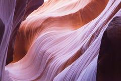 Den lägre antilopkanjonen i Arizona Royaltyfri Bild