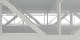 Den lägre nivån av brobakgrunden Arkivbilder