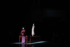 Den långa handlingen för förälskelseväg- först av dansdrama-Shawanhändelser av forntiden Royaltyfri Fotografi
