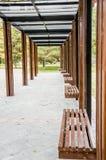 Den långa korridoren royaltyfri fotografi