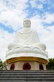 Stora Buddha (den långa Sonpagodaen), landmark på Nha Trang, Vietnam Arkivbild