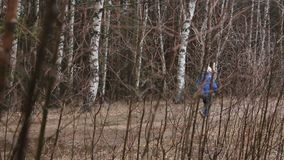 Den långdistans- löparen lager videofilmer