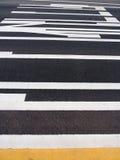 Den långsamma downen för teckentrafik Arkivfoton