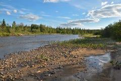 Den lösa nordliga floden Royaltyfri Fotografi