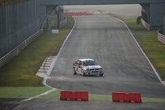 Den Lancia deltan samlar bilen på Monza Royaltyfri Bild
