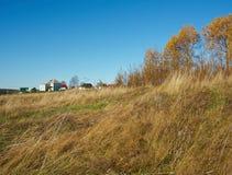 Den lantliga hösten landskap Arkivbild
