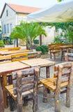 Den lantliga restaurangen Fotografering för Bildbyråer