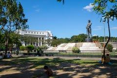Den Lapu Lapu monumentet Fotografering för Bildbyråer
