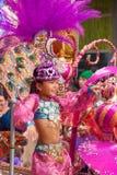 Den Las Palmas de Gran Canaria barnkarnevalet ståtar 2015 Royaltyfria Foton