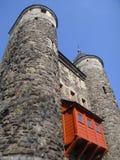 Den Maastricht staden utfärda utegångsförbud för Arkivfoton