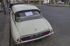 """Den legendariska bilen Citroà """"n DS Fotografering för Bildbyråer"""