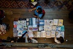 Den Lello bokhandeln Porto Portugal Arkivfoton