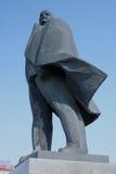 Den Lenin monumentet nära opera- och balettteatern Arkivbilder