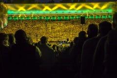 Den lettiska nationella conceren för final för sång- och dansfestival storslagna Royaltyfria Foton