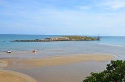 Den lilla ön av Isola La Chianca Arkivfoto