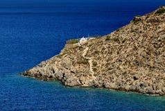 Den lilla ön Kalymnos i Grekland Arkivfoton
