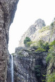 Den lilla Dragon Waterfall Arkivbilder