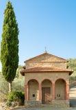Den lilla kyrkan av berglägen i Mammi Arkivfoton
