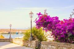 Den lilla porten av Maratea Royaltyfria Bilder