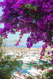 Den lilla porten av Maratea Royaltyfri Foto