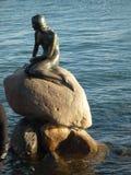Den lilla sjöjungfrun, Cophenhagen Royaltyfria Bilder
