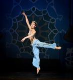 """Den lilla sjöjungfrun som hoppar ut ur för balett""""One tusen och en den hav Nights†en Royaltyfri Fotografi"""