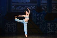 """Den lilla sjöjungfrun som hoppar ut ur för balett""""One tusen och en den hav Nights†en Royaltyfria Foton"""
