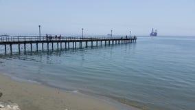 Den Limassol marina i Cypern Arkivfoto