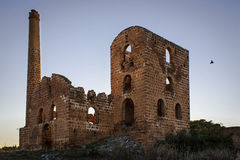 Den Linares minen fördärvar Arkivbilder