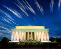 Den Lincoln minnesmärken Arkivfoto