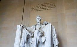 Den Lincoln minnesmärken Arkivbilder