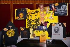 Den Lion King musikalen på den Minskoff teatern i New York City Fotografering för Bildbyråer