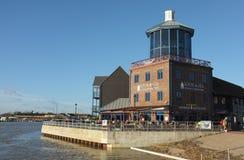 Den Littlehampton hamnen, besökare centrerar Fotografering för Bildbyråer