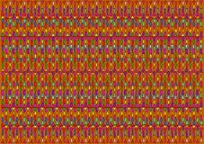 Den ljusa abstrakta bakgrunden av kulöra polygoner Arkivfoto