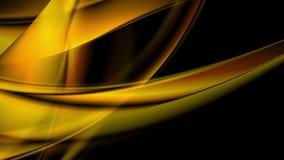 Den ljusa glödande apelsinen vinkar den videopd animeringen vektor illustrationer