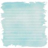 Den ljusa linjen blått tonar med den lutande linjen retro vint för bandrad Arkivbild