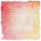 Den ljusa linjen rosa färg gulnar med lutande linje retro VI för bandrad Royaltyfria Bilder