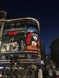 Den London natten arkivbilder