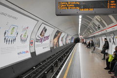 Den London tunnelbanan posterar Royaltyfria Foton