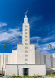 Den Los Angeles Kalifornien templet Royaltyfri Fotografi
