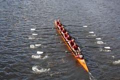 Den Loyola akademin races i huvudet av Charles Regatt Royaltyfria Bilder