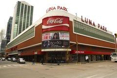 Den Luna Park musiken Hall, Buenos Aires arkivbild